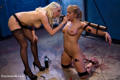 Photo number 3 from Inescapable Copper Breaks Lea Lexis shot for Electro Sluts on Kink.com. Featuring Lea Lexis and Lorelei Lee in hardcore BDSM & Fetish porn.