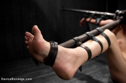 Photo number 5 from Coral Aorta gets caned shot for Device Bondage on Kink.com. Featuring Coral Aorta in hardcore BDSM & Fetish porn.