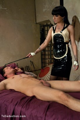 Photo number 10 from Toyko Love Hotel with Ts Twist: Be Careful When You Pick Up Strangers shot for TS Seduction on Kink.com. Featuring Parker London and Kelly Clare in hardcore BDSM & Fetish porn.