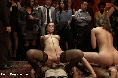 Photo number 15 from Princess Donna's Birthday Bash Part 1!!!!! shot for Public Disgrace on Kink.com. Featuring Remy LaCroix and James Deen in hardcore BDSM & Fetish porn.
