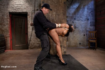 Photo number 5 from Amazing Fitness Enthusiast Kelli Provocateur Gets Sexually Dominated shot for Hogtied on Kink.com. Featuring Kelli Provocateur in hardcore BDSM & Fetish porn.