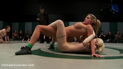 Photo number 14 from RD 2 of March's Live Tag Team Match: Totally non-scripted collegian style sexual lesbian wresting! shot for Ultimate Surrender on Kink.com. Featuring Beretta James, Charisma Cappelli, Iona Grace, Princess Donna Dolore and Shae Simone in hardcore BDSM & Fetish porn.