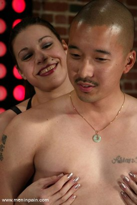 Photo number 15 from Mallory Knots and Mike shot for Men In Pain on Kink.com. Featuring Mallory Knots and Mike in hardcore BDSM & Fetish porn.