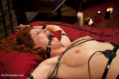 Photo number 8 from Fiery Redhead Brooklyn is back for Electro Lezdom BDSM! shot for Electro Sluts on Kink.com. Featuring Brooklyn Lee and Bobbi Starr in hardcore BDSM & Fetish porn.