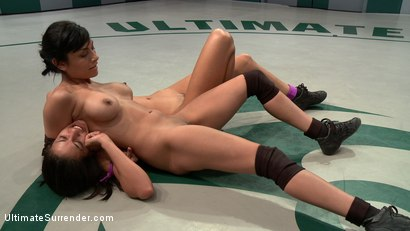 Photo number 3 from SUMMER VENGEANCE!!!! Bottom Ranked Wrestlers fight for Victory and a Chance to Move Ahead! shot for Ultimate Surrender on Kink.com. Featuring Lyla Storm and Beretta James in hardcore BDSM & Fetish porn.