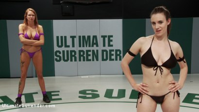 Photo number 1 from SUMMER VENGEANCE: 6th vs 11th Two Big Tittied Wrestlers Fight to Avoid Elimination for the Season shot for Ultimate Surrender on Kink.com. Featuring Iona Grace and Rain DeGrey in hardcore BDSM & Fetish porn.