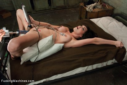 Photo number 5 from Holly Michaels Big Dicks and ROPE, Machine Fucked and CUMMED OUT shot for Fucking Machines on Kink.com. Featuring Holly Michaels in hardcore BDSM & Fetish porn.