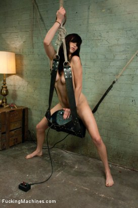 Photo number 10 from Fucking Holly Michaels and her PERFECT NATURAL TITS shot for Fucking Machines on Kink.com. Featuring Holly Michaels in hardcore BDSM & Fetish porn.