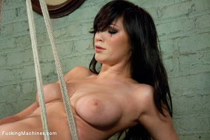 Photo number 8 from Fucking Holly Michaels and her PERFECT NATURAL TITS shot for Fucking Machines on Kink.com. Featuring Holly Michaels in hardcore BDSM & Fetish porn.