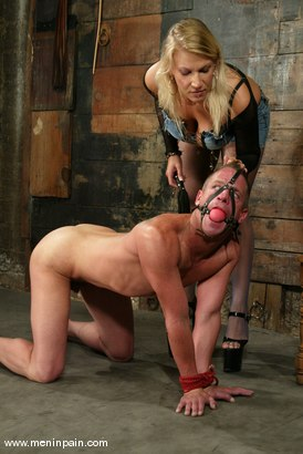 Photo number 3 from Xana Star and Plew shot for Men In Pain on Kink.com. Featuring Xana Star and Plew in hardcore BDSM & Fetish porn.
