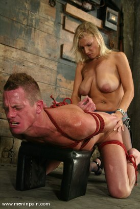 Photo number 15 from Xana Star and Plew shot for Men In Pain on Kink.com. Featuring Xana Star and Plew in hardcore BDSM & Fetish porn.