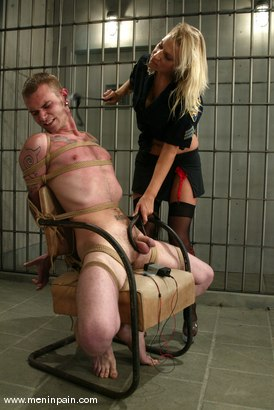 Photo number 4 from Xana Star and Richie Rennt shot for Men In Pain on Kink.com. Featuring Xana Star and Richie Rennt in hardcore BDSM & Fetish porn.