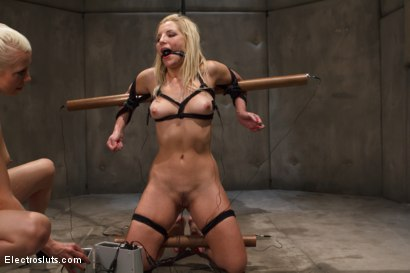 Photo number 4 from Ashley Fires Suffers to Wired Copper! shot for Electro Sluts on Kink.com. Featuring Ashley Fires and Lorelei Lee in hardcore BDSM & Fetish porn.
