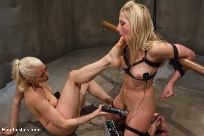 Photo number 8 from Ashley Fires Suffers to Wired Copper! shot for Electro Sluts on Kink.com. Featuring Ashley Fires and Lorelei Lee in hardcore BDSM & Fetish porn.