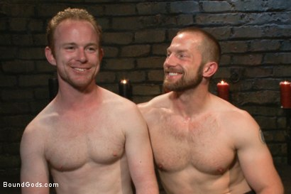 Photo number 15 from Adam Herst and Alex Summers Part One <br/> Real Life Couple Series shot for Bound Gods on Kink.com. Featuring Adam Herst and Alex Summers in hardcore BDSM & Fetish porn.
