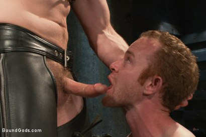Photo number 5 from Adam Herst and Alex Summers Part One <br/> Real Life Couple Series shot for Bound Gods on Kink.com. Featuring Adam Herst and Alex Summers in hardcore BDSM & Fetish porn.