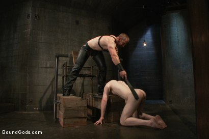 Photo number 2 from Adam Herst and Alex Summers Part One <br/> Real Life Couple Series shot for Bound Gods on Kink.com. Featuring Adam Herst and Alex Summers in hardcore BDSM & Fetish porn.