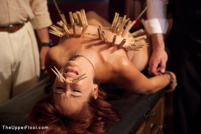 Photo number 14 from Stefanos' Brunch shot for The Upper Floor on Kink.com. Featuring Beretta James, Krysta Kaos and Maestro Stefanos in hardcore BDSM & Fetish porn.