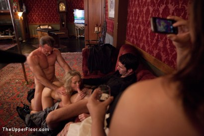 Photo number 22 from Stefanos' Brunch shot for The Upper Floor on Kink.com. Featuring Beretta James, Krysta Kaos and Maestro Stefanos in hardcore BDSM & Fetish porn.
