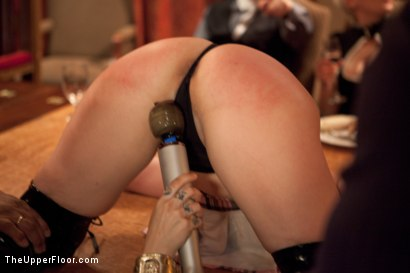 Photo number 5 from Stefanos' Brunch shot for The Upper Floor on Kink.com. Featuring Beretta James, Krysta Kaos and Maestro Stefanos in hardcore BDSM & Fetish porn.