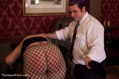 Photo number 10 from Stefanos' Brunch shot for The Upper Floor on Kink.com. Featuring Beretta James, Krysta Kaos and Maestro Stefanos in hardcore BDSM & Fetish porn.