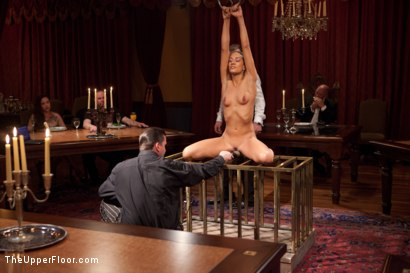 Photo number 15 from  Slave Initiation: chrome shot for The Upper Floor on Kink.com. Featuring Dylan Ryan, Lyla Storm, Beretta James and Mark Davis in hardcore BDSM & Fetish porn.