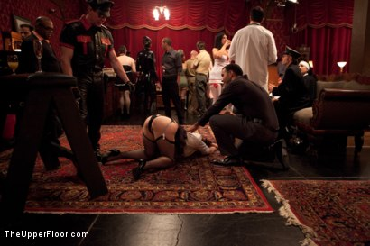 Photo number 12 from Uniform Party shot for The Upper Floor on Kink.com. Featuring Dylan Ryan, Derrick Pierce, Lyla Storm, Krysta Kaos, The Pope and Maestro Stefanos in hardcore BDSM & Fetish porn.