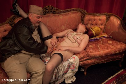 Photo number 14 from Uniform Party shot for The Upper Floor on Kink.com. Featuring Dylan Ryan, Derrick Pierce, Lyla Storm, Krysta Kaos, The Pope and Maestro Stefanos in hardcore BDSM & Fetish porn.