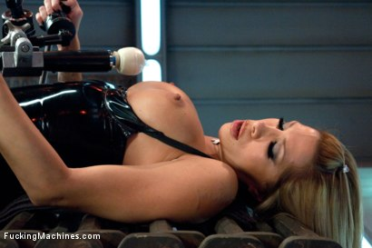 Photo number 8 from Gone in 60 seconds: HOT MILF cums fast, hard and over and over again from MACHINES shot for Fucking Machines on Kink.com. Featuring Kayla Carrera in hardcore BDSM & Fetish porn.