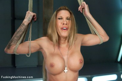 Photo number 10 from Gone in 60 seconds: HOT MILF cums fast, hard and over and over again from MACHINES shot for Fucking Machines on Kink.com. Featuring Kayla Carrera in hardcore BDSM & Fetish porn.