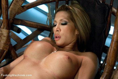 Photo number 4 from Gone in 60 seconds: HOT MILF cums fast, hard and over and over again from MACHINES shot for Fucking Machines on Kink.com. Featuring Kayla Carrera in hardcore BDSM & Fetish porn.