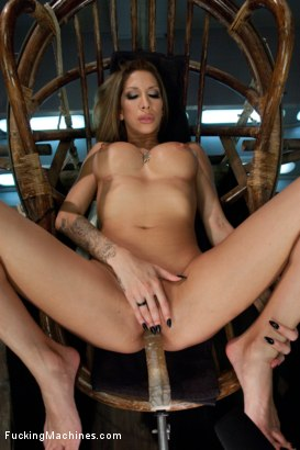 Photo number 5 from Gone in 60 seconds: HOT MILF cums fast, hard and over and over again from MACHINES shot for Fucking Machines on Kink.com. Featuring Kayla Carrera in hardcore BDSM & Fetish porn.