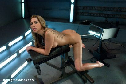 Photo number 6 from Gone in 60 seconds: HOT MILF cums fast, hard and over and over again from MACHINES shot for Fucking Machines on Kink.com. Featuring Kayla Carrera in hardcore BDSM & Fetish porn.