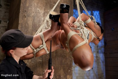 Photo number 16 from Hot and Tight Skin Diamond Pushed To The MAX At HogTied.com shot for Hogtied on Kink.com. Featuring Skin Diamond in hardcore BDSM & Fetish porn.