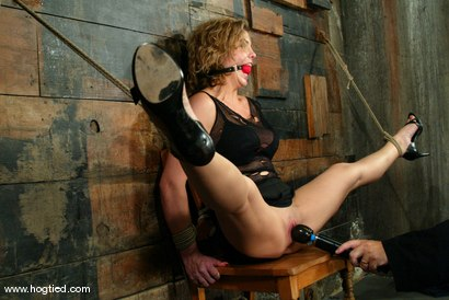 Photo number 2 from Brooke Bound shot for Hogtied on Kink.com. Featuring Brooke Bound in hardcore BDSM & Fetish porn.