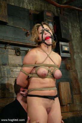 Photo number 4 from Brooke Bound shot for Hogtied on Kink.com. Featuring Brooke Bound in hardcore BDSM & Fetish porn.