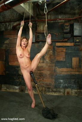 Photo number 9 from Brooke Bound shot for Hogtied on Kink.com. Featuring Brooke Bound in hardcore BDSM & Fetish porn.