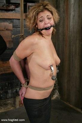 Photo number 15 from Brooke Bound shot for Hogtied on Kink.com. Featuring Brooke Bound in hardcore BDSM & Fetish porn.