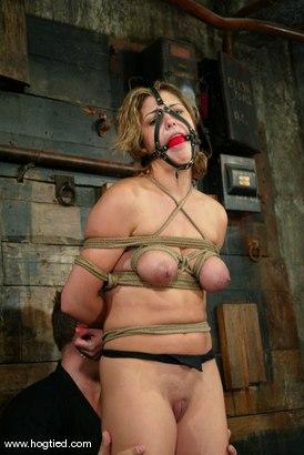 Photo number 4 from Brooke Bound shot for Hogtied on Kink.com. Featuring Brooke Bound in hardcore BDSM & Fetish porn.