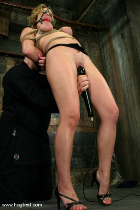 Photo number 5 from Brooke Bound shot for Hogtied on Kink.com. Featuring Brooke Bound in hardcore BDSM & Fetish porn.