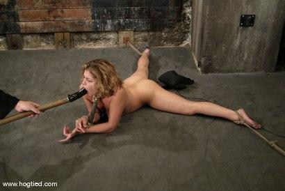 Photo number 10 from Brooke Bound shot for Hogtied on Kink.com. Featuring Brooke Bound in hardcore BDSM & Fetish porn.