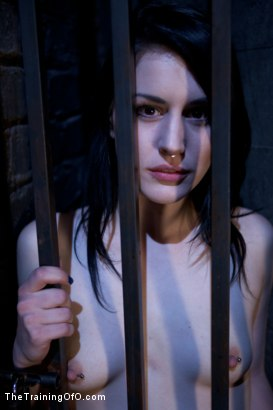 Photo number 2 from Slave Training of Katherine Cane   Day 1 shot for The Training Of O on Kink.com. Featuring Katharine Cane in hardcore BDSM & Fetish porn.