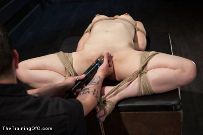 Photo number 14 from Slave Training of Katherine Cane   Day 1 shot for The Training Of O on Kink.com. Featuring Katharine Cane in hardcore BDSM & Fetish porn.