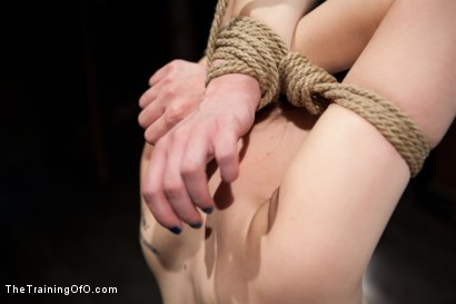 Photo number 9 from Slave Training of Katherine Cane<br>Day 1 shot for The Training Of O on Kink.com. Featuring Katharine Cane in hardcore BDSM & Fetish porn.