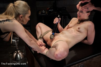 Photo number 9 from Training Katherine Cane - Day 3 shot for The Training Of O on Kink.com. Featuring Aiden Starr and Katharine Cane in hardcore BDSM & Fetish porn.