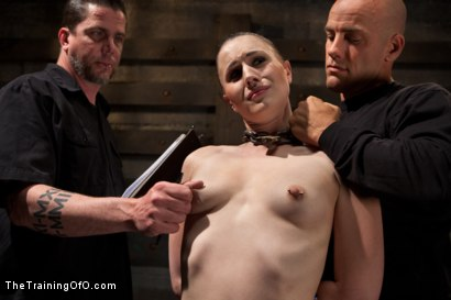Photo number 1 from Training Katharine Cane - Day 4 shot for The Training Of O on Kink.com. Featuring Derrick Pierce and Katharine Cane in hardcore BDSM & Fetish porn.