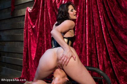Photo number 5 from Phoenix Marie and Bobbi Starr; Need I say more? shot for Whipped Ass on Kink.com. Featuring Phoenix Marie and Bobbi Starr in hardcore BDSM & Fetish porn.