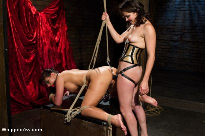 Photo number 9 from Phoenix Marie and Bobbi Starr; Need I say more? shot for Whipped Ass on Kink.com. Featuring Phoenix Marie and Bobbi Starr in hardcore BDSM & Fetish porn.