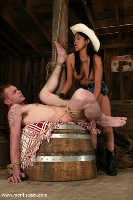 Photo number 12 from Mika Tan and Richie Rennt shot for Men In Pain on Kink.com. Featuring Mika Tan and Richie Rennt in hardcore BDSM & Fetish porn.