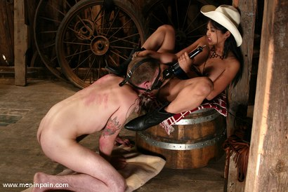Photo number 9 from Mika Tan and Richie Rennt shot for Men In Pain on Kink.com. Featuring Mika Tan and Richie Rennt in hardcore BDSM & Fetish porn.